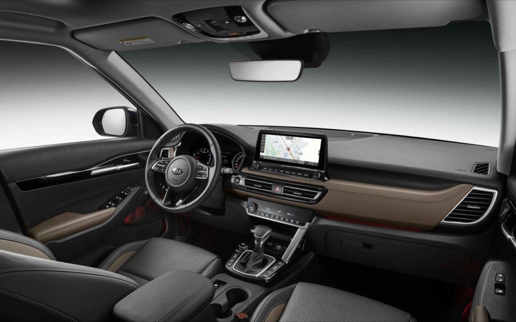 Обзор автомобиля KIA Seltos